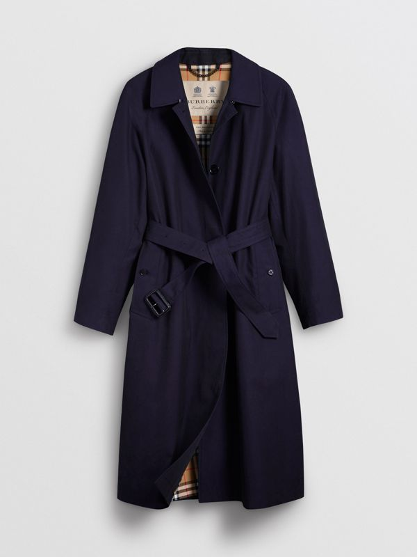 The Brighton Car Coat in Blue Carbon - Women | Burberry - cell image 3