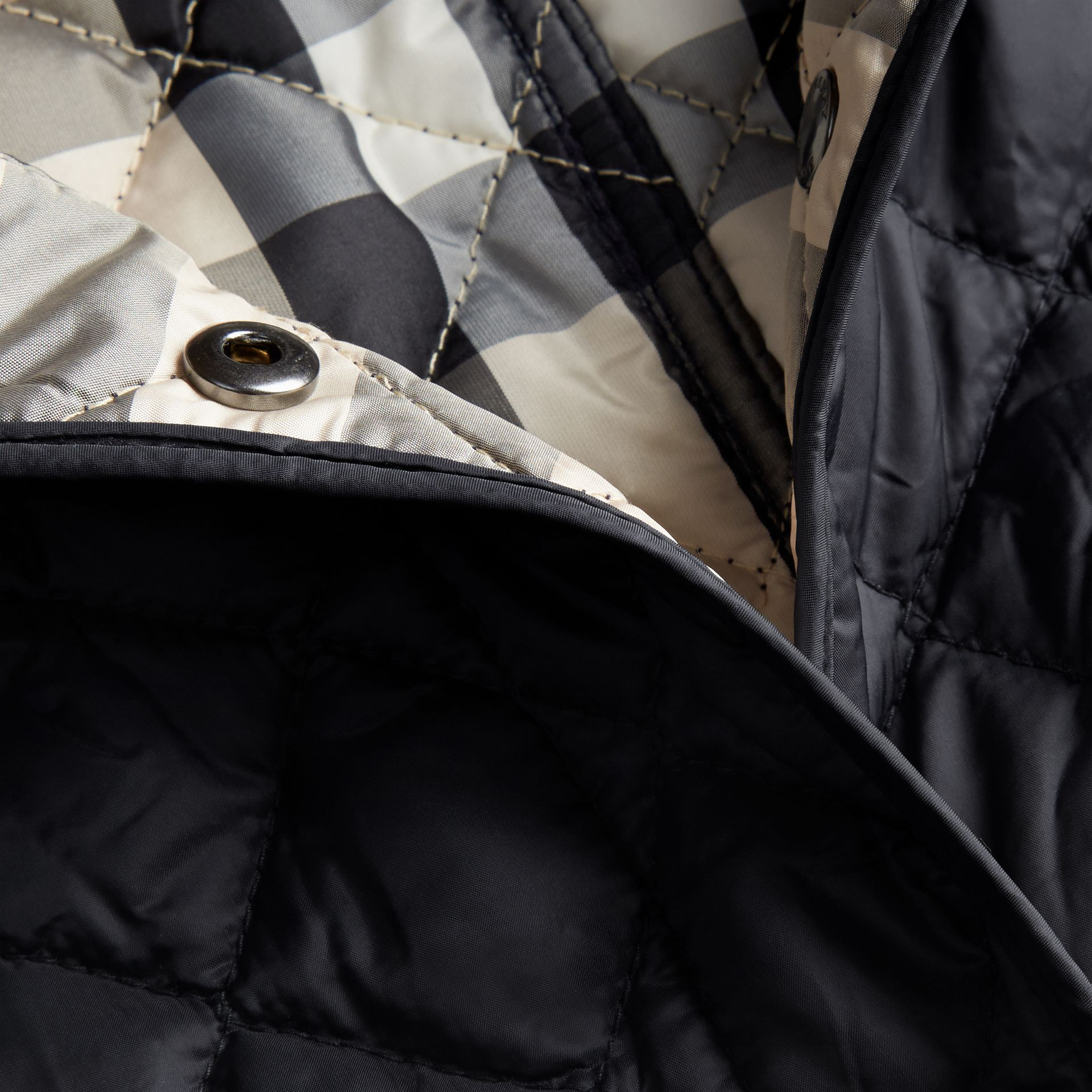 Ink Diamond Quilted Jacket Ink - gallery image 2