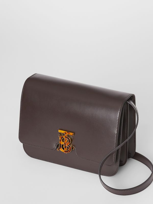 Medium Leather TB Bag in Coffee - Women | Burberry Singapore - cell image 3