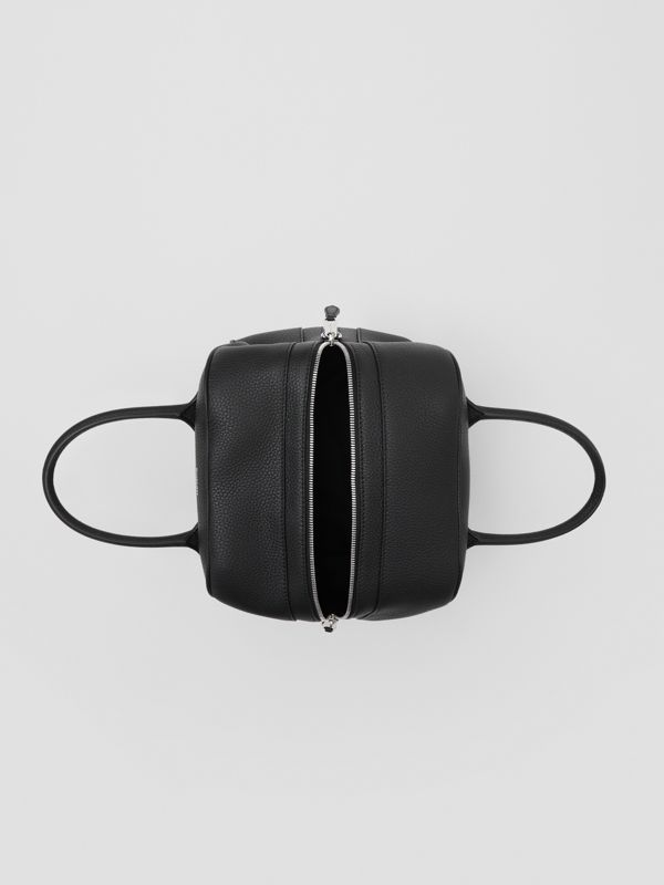 Small Leather Cube Bag in Black - Women | Burberry United Kingdom - cell image 3