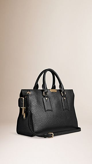 Sac medium The Clifton en cuir grainé emblématique