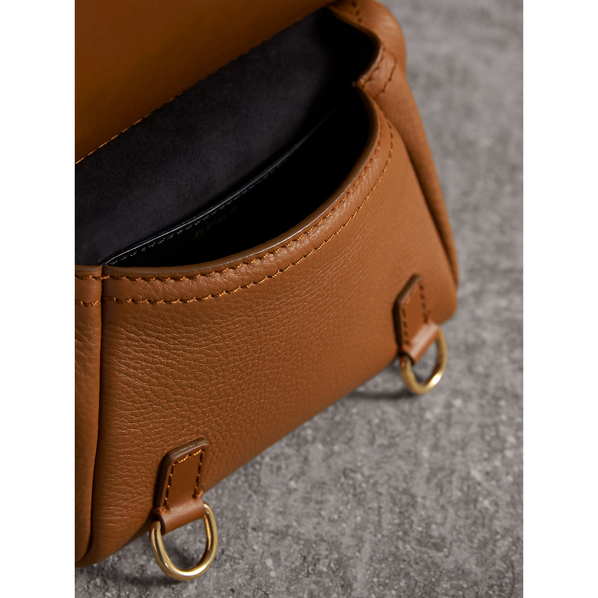 The Baby Bridle Bag in Leather in Tan - gallery image 5