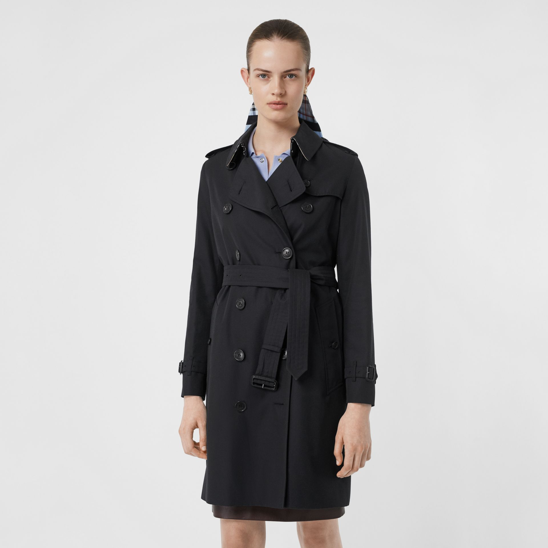Trench Heritage The Kensington (Minuit) - Femme | Burberry - photo de la galerie 7