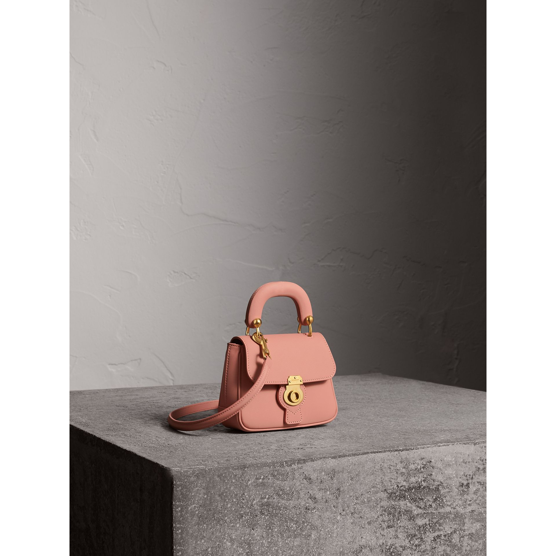 The Mini DK88 Top Handle Bag in Ash Rose - Women | Burberry - gallery image 8