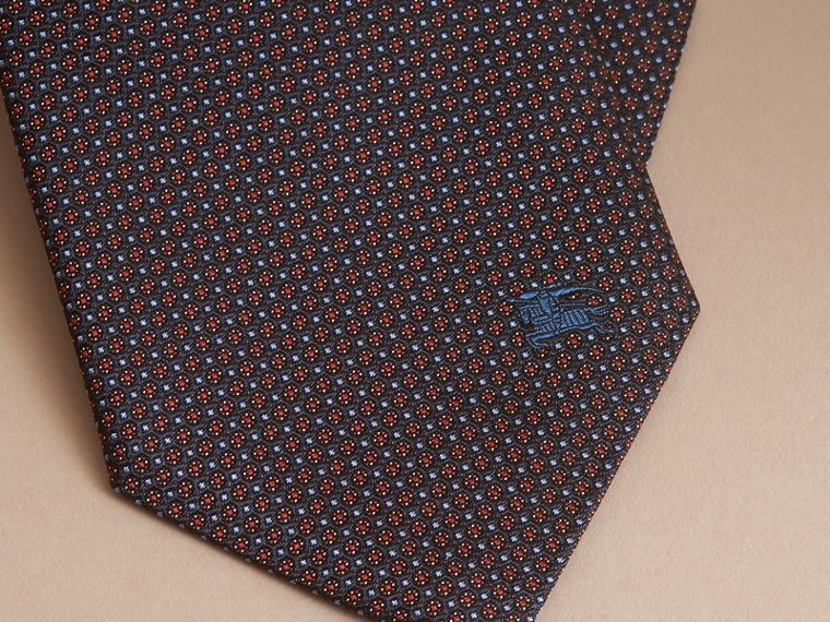 Classic Cut Patterned Silk Tie - Men | Burberry - cell image 1