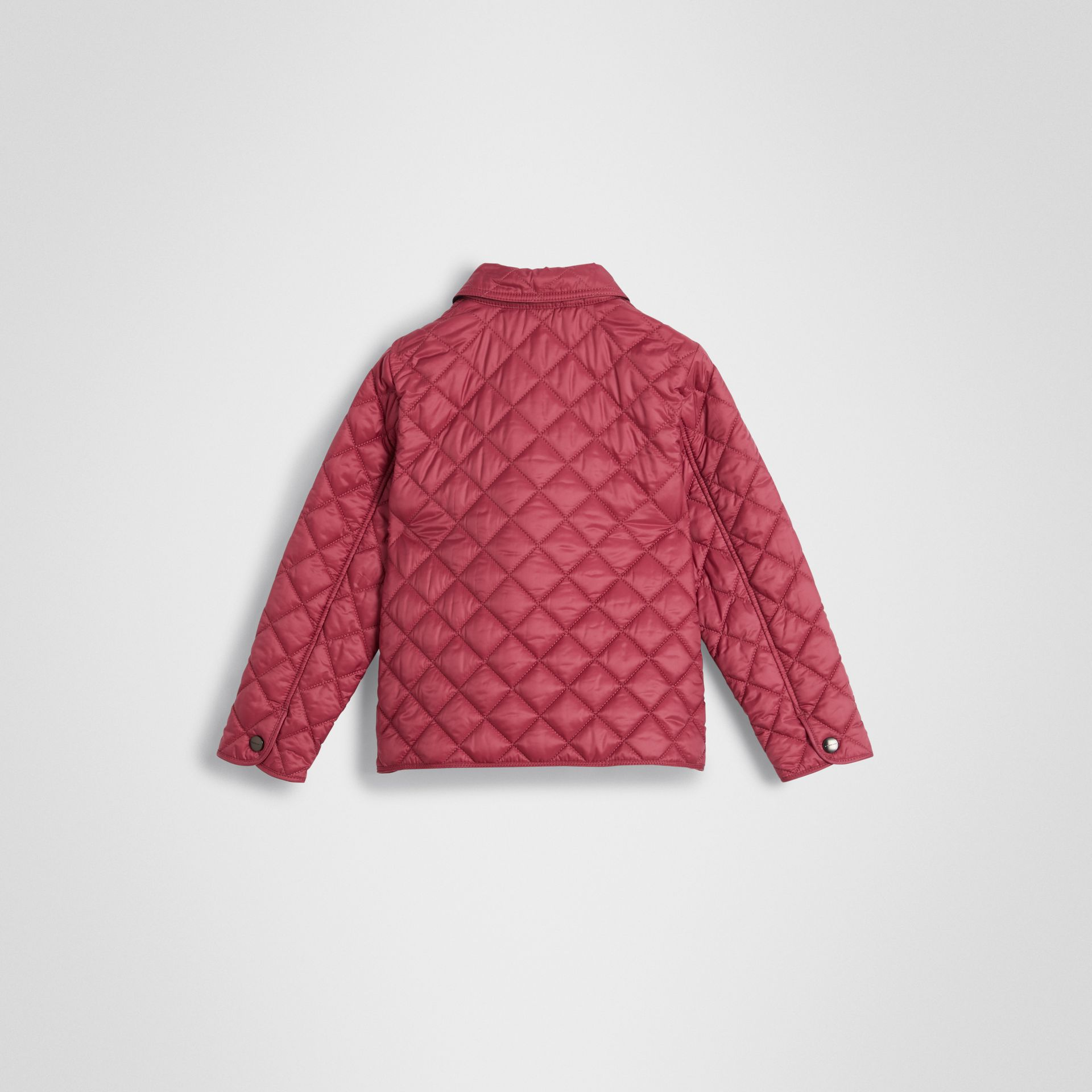 Lightweight Diamond Quilted Jacket in Peony Rose | Burberry United Kingdom - gallery image 3