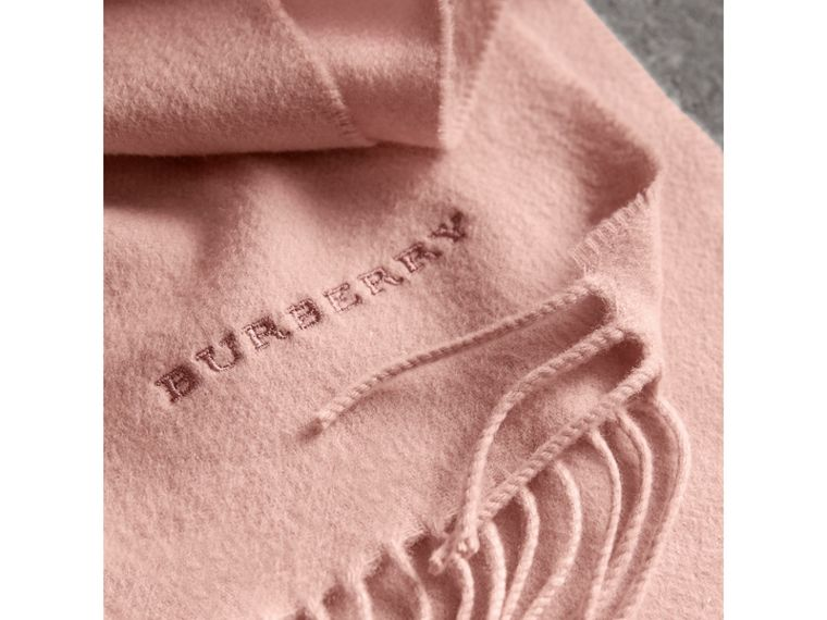 The Classic Cashmere Scarf in Ash Rose | Burberry - cell image 1