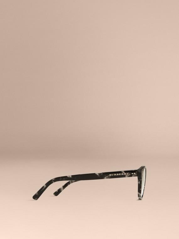 Gris Monture ronde pour lunettes de vue Gris - cell image 3