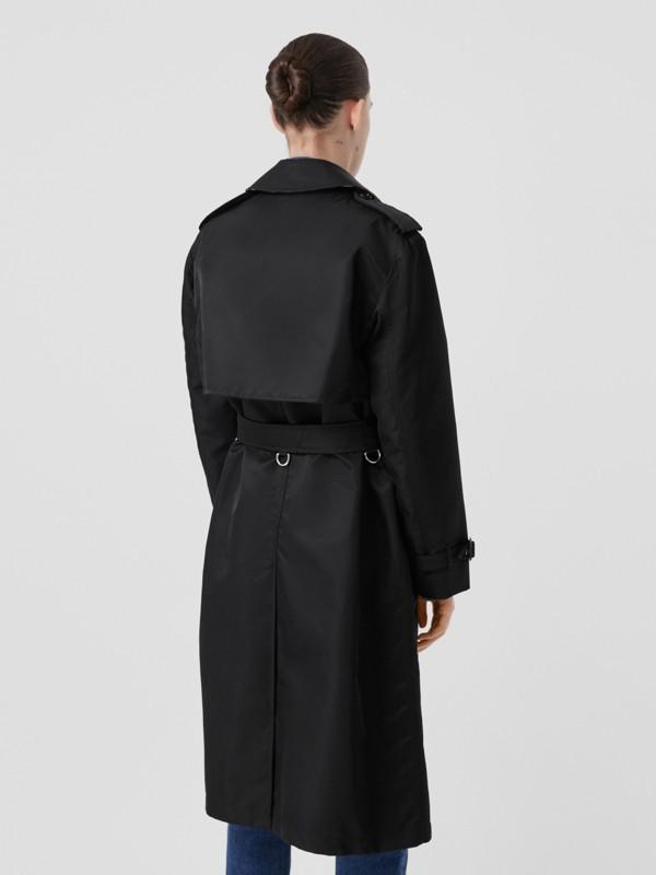 Nylon Twill Trench Coat in Black - Women | Burberry Australia - cell image 2