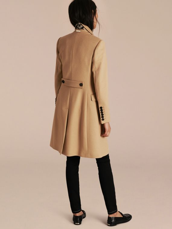 Camel Tailored Wool Cashmere Coat Camel - cell image 2