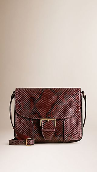 Small Python Crossbody Bag