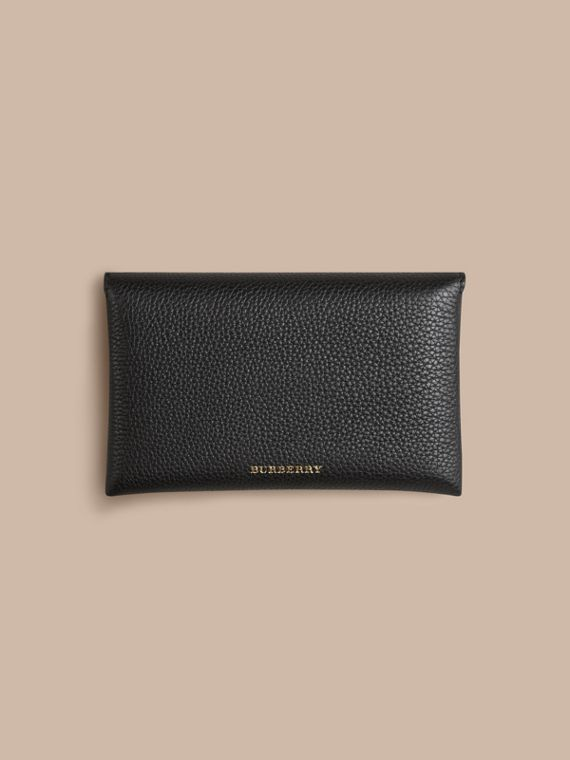 Wooden Domino Set with Grainy Leather Case in Black | Burberry - cell image 3