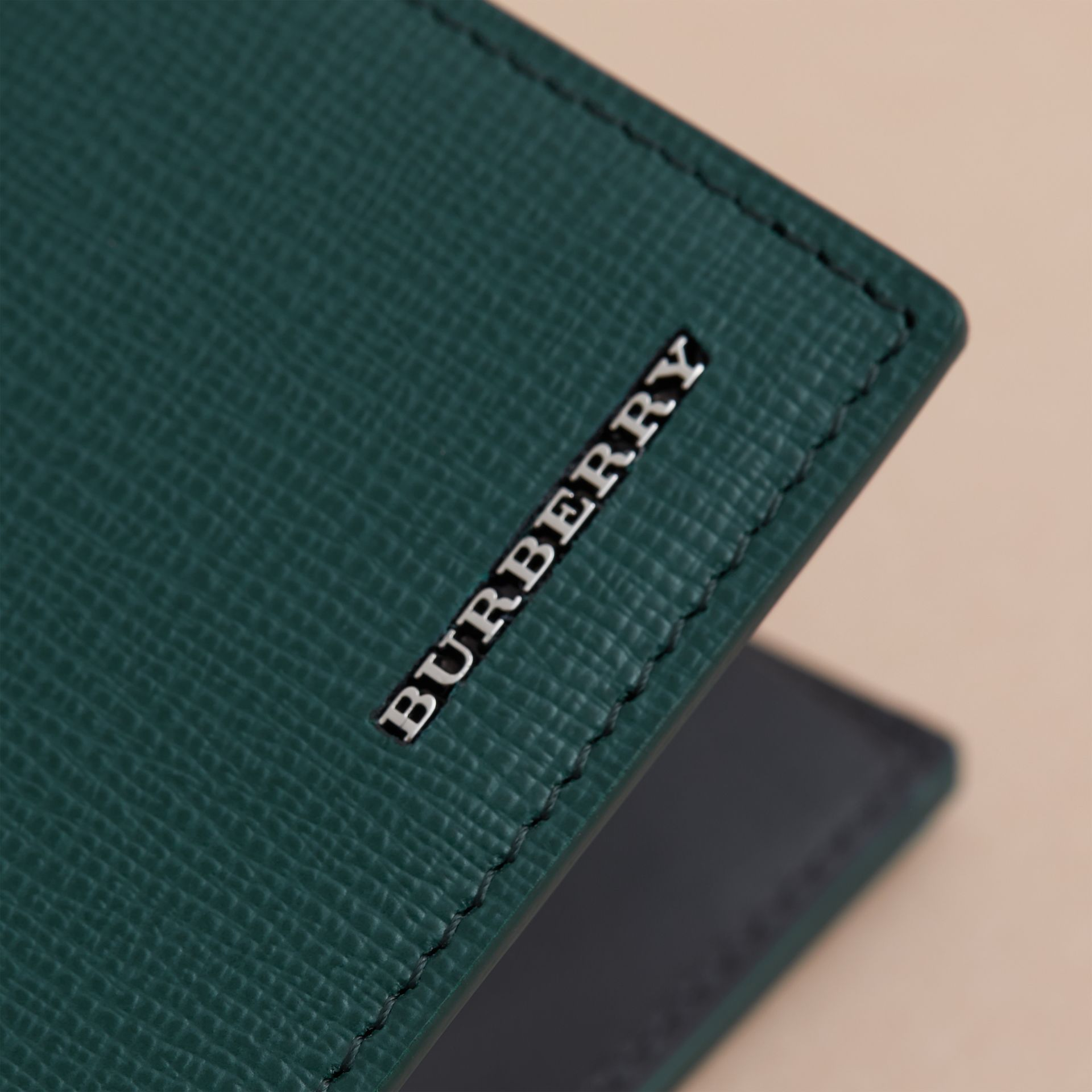 London Leather International Bifold Coin Wallet | Burberry Australia - gallery image 5