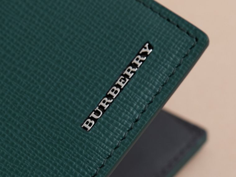 London Leather International Bifold Coin Wallet | Burberry Australia - cell image 4