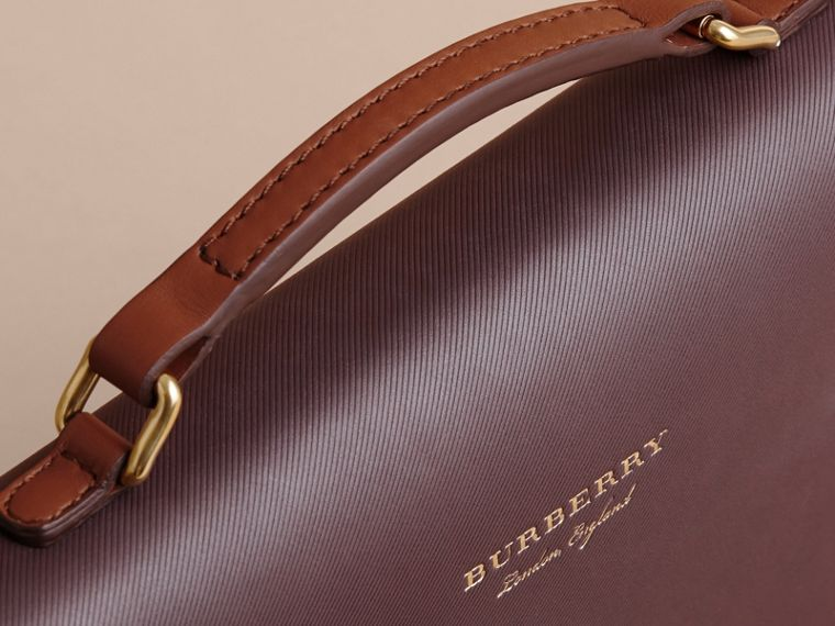 The DK88 Portfolio Case in Wine - Men | Burberry - cell image 1