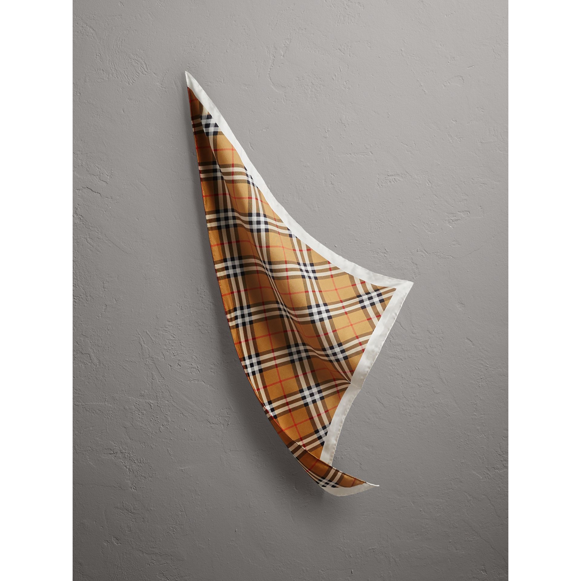 The Burberry Bandana in Vintage Check Silk | Burberry United States - gallery image 1