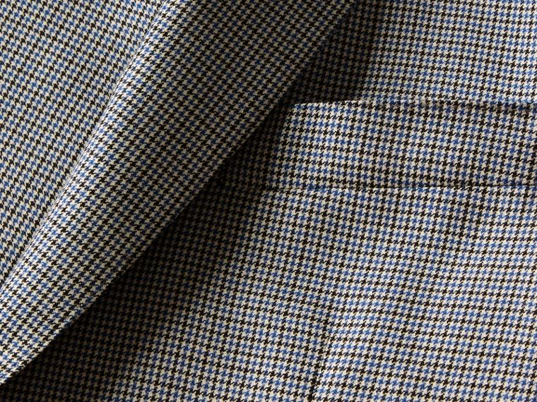 Slim Fit Houndstooth Wool Tailored Jacket - Men | Burberry - cell image 1