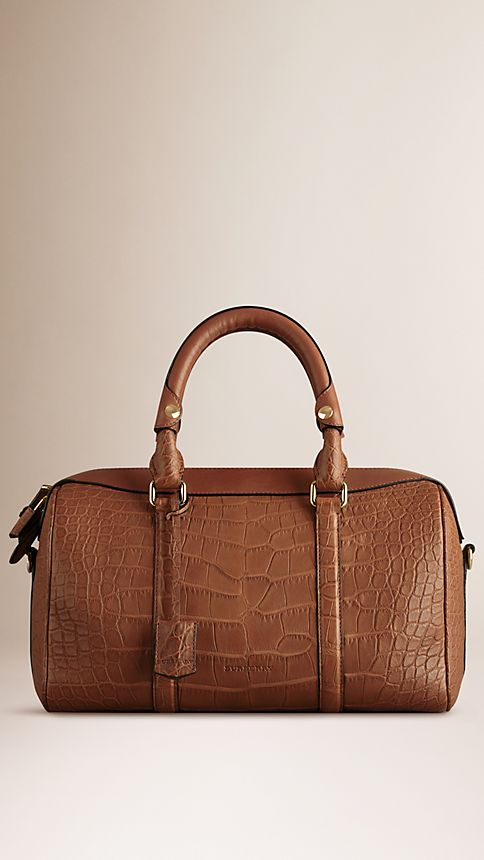 Tan The Medium Alchester in Alligator - Image 1
