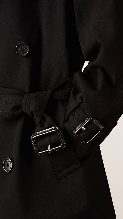 Black The Wiltshire - Heritage Trench Coat - Image 4