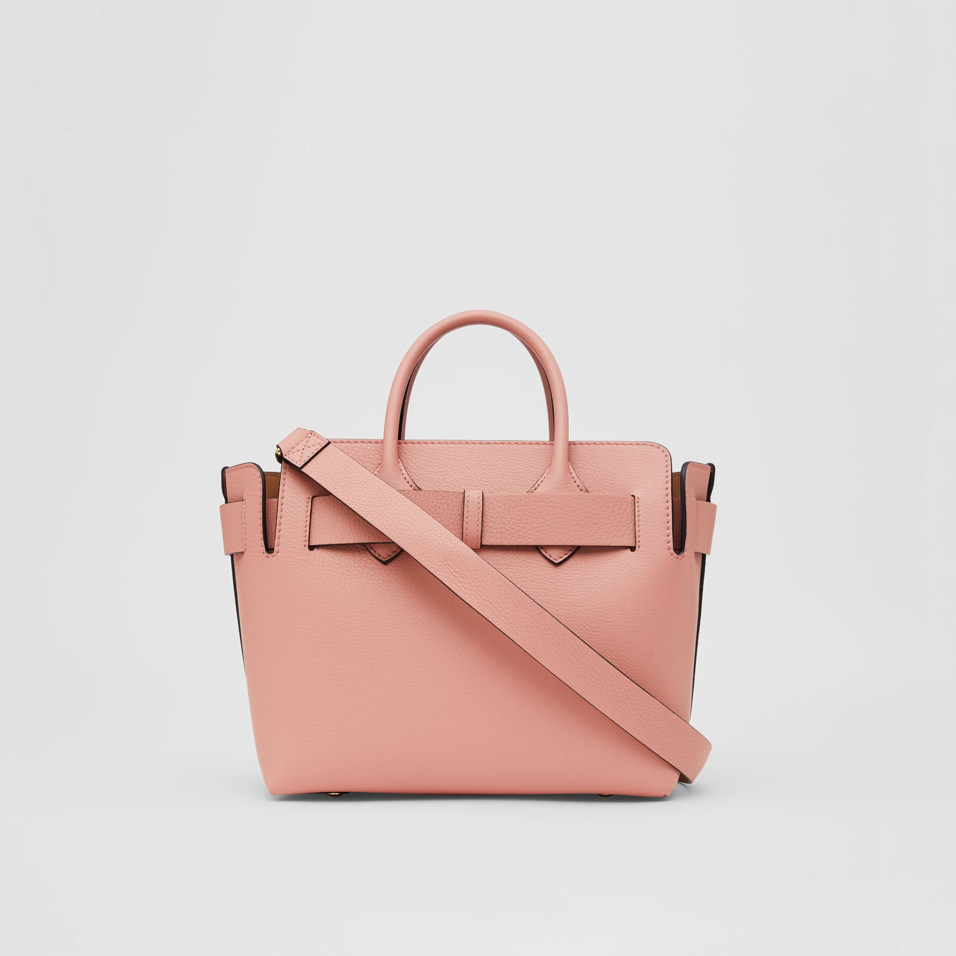 The Small Leather Triple Stud Belt Bag in Ash Rose - Women | Burberry United Kingdom - gallery image 7