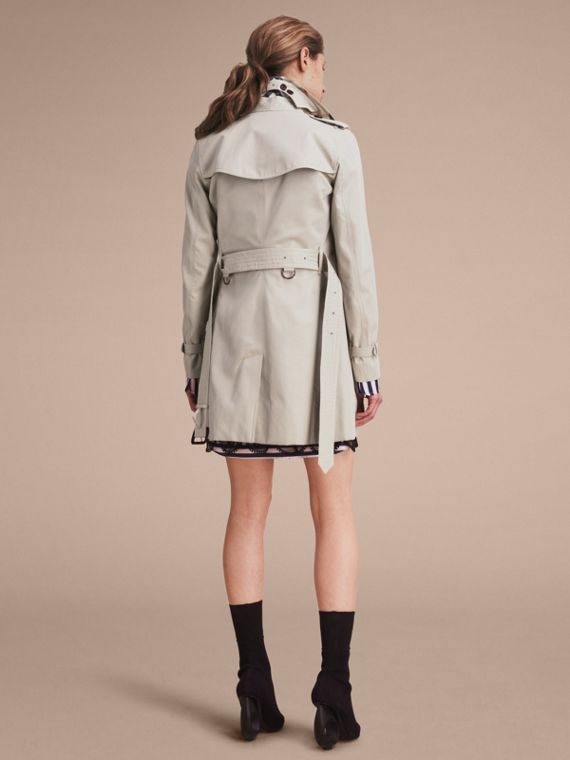 Stone The Kensington – Mid-Length Heritage Trench Coat Stone - cell image 3
