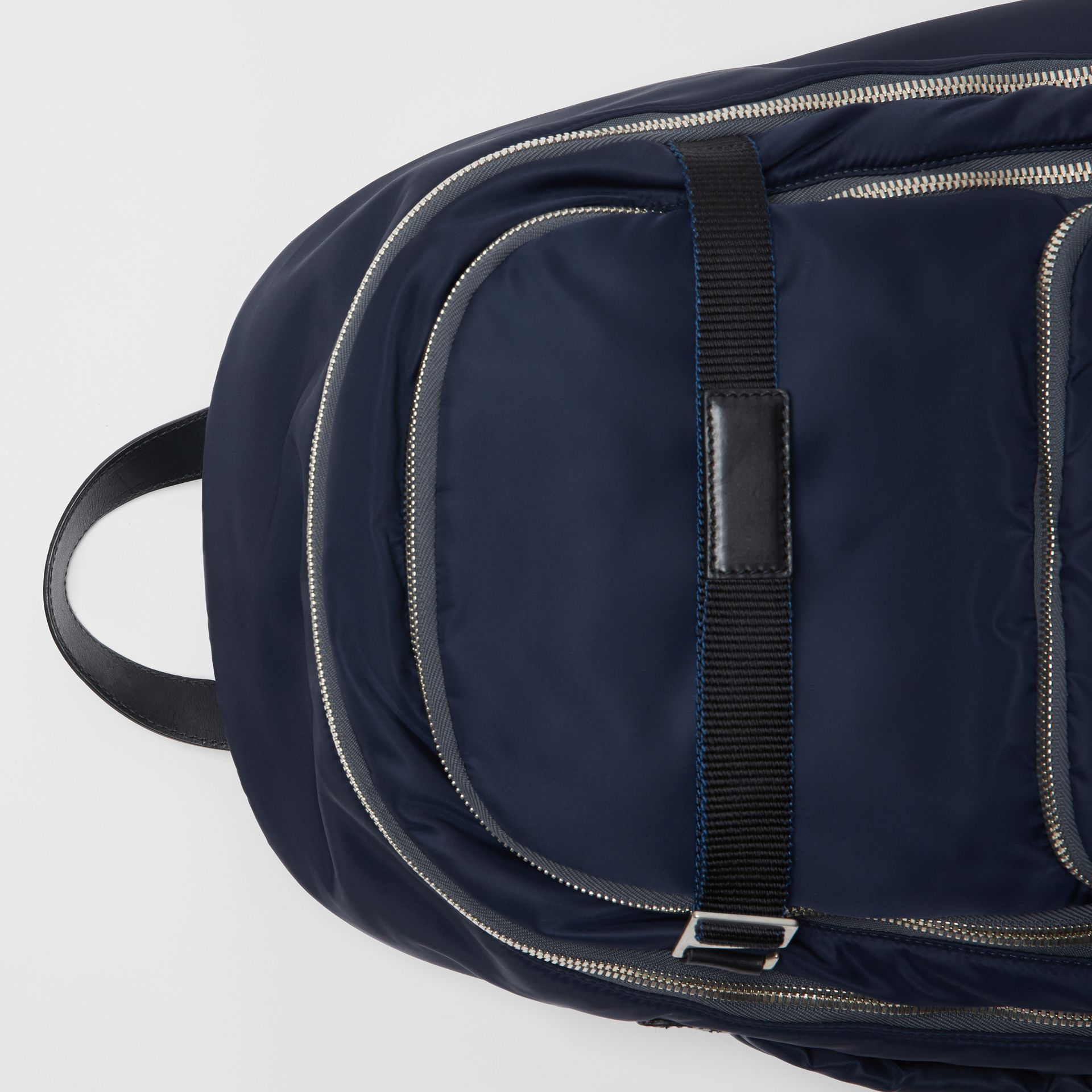 Large EKD Aviator Nylon Backpack in Ink Blue - Men | Burberry United States - gallery image 1