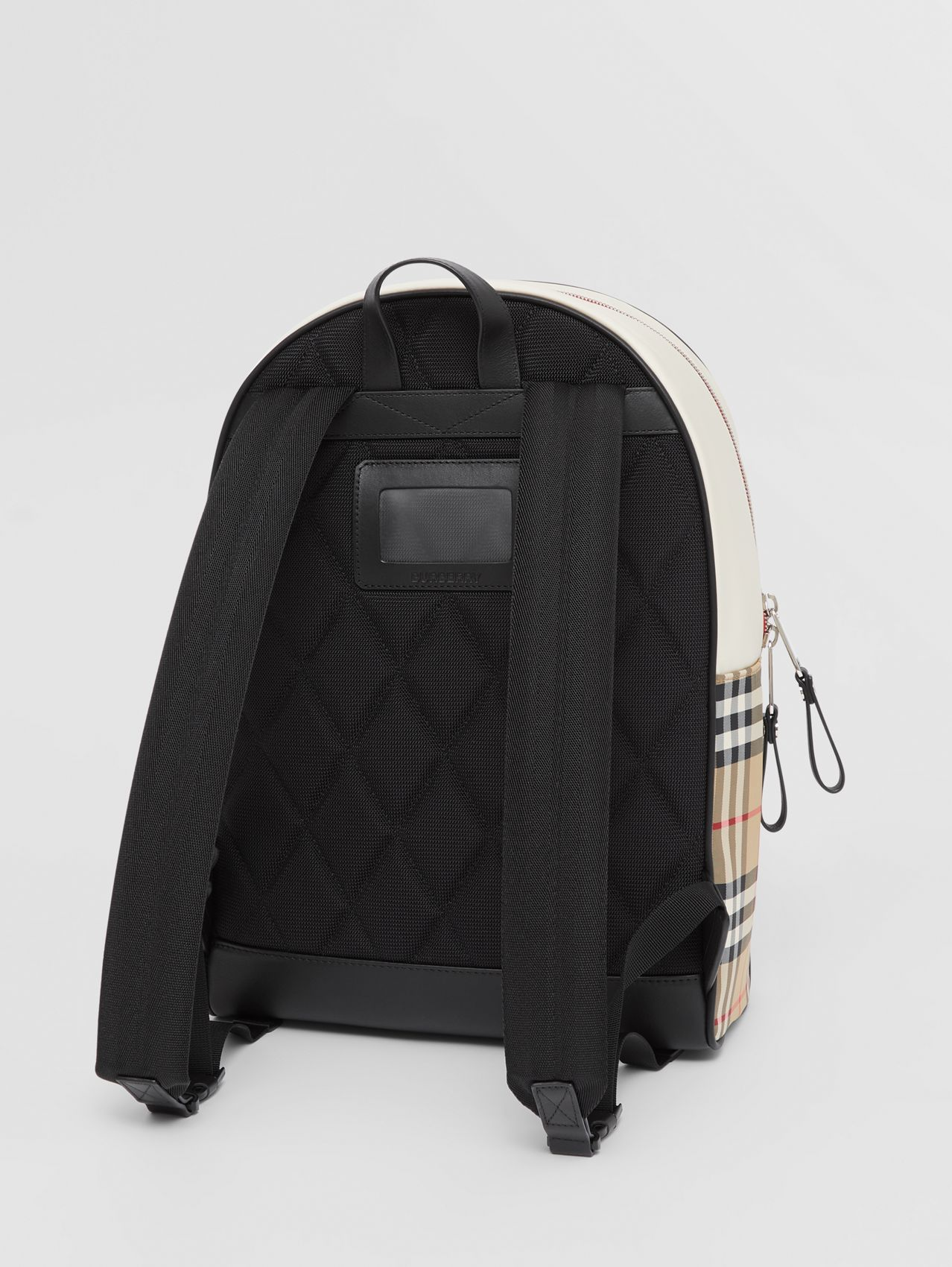 Monogram Motif Vintage Check ECONYL® Backpack in Archive Beige