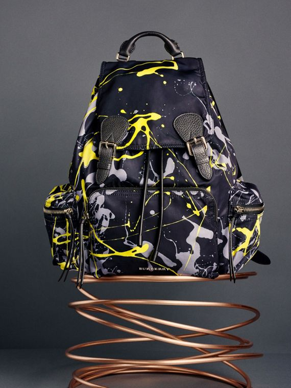 The Large Rucksack in Splash Print