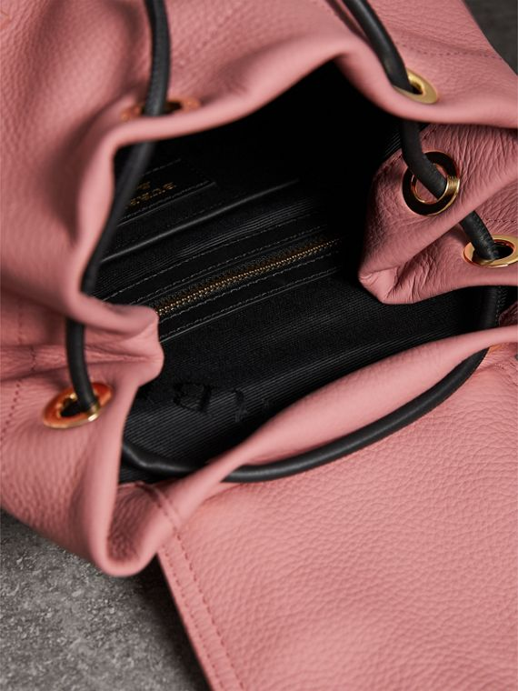 The Medium Rucksack in Deerskin with Beasts Motif in Blossom Pink - Women | Burberry Australia - cell image 3