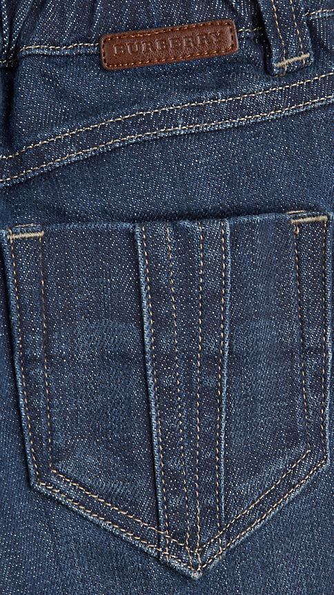 Bleu Jean en denim extensible - Image 3