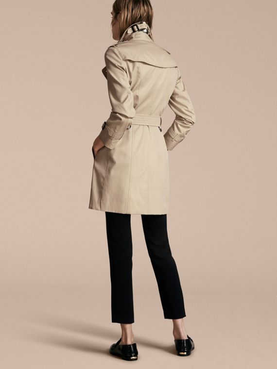 Stone The Sandringham – Mid-Length Heritage Trench Coat Stone - cell image 2