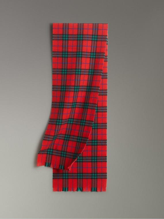 格紋喀什米爾圍巾