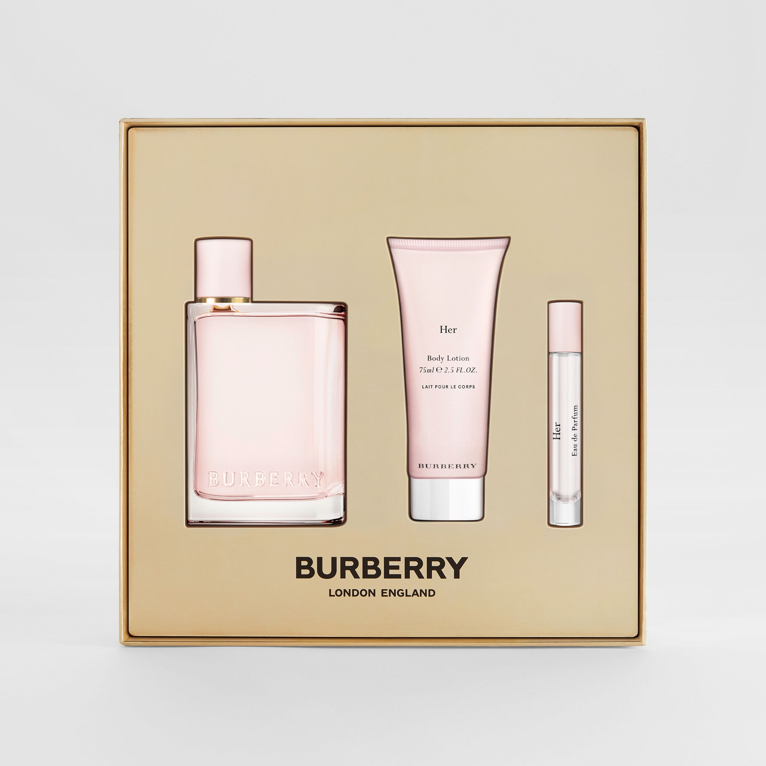 Her Eau de Parfum Gift Set in Honey - Women | Burberry - 2