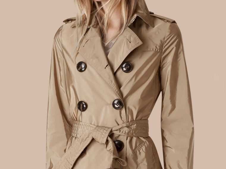 Lightweight Trench Coat Sisal - cell image 4