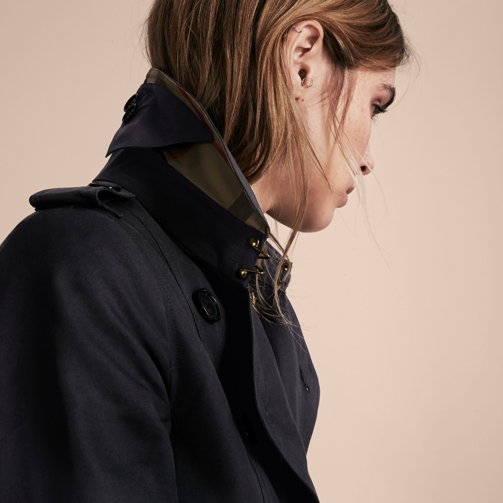 Marine Trench-coat Heritage extra-long The Chelsea Marine - photo de la galerie 6