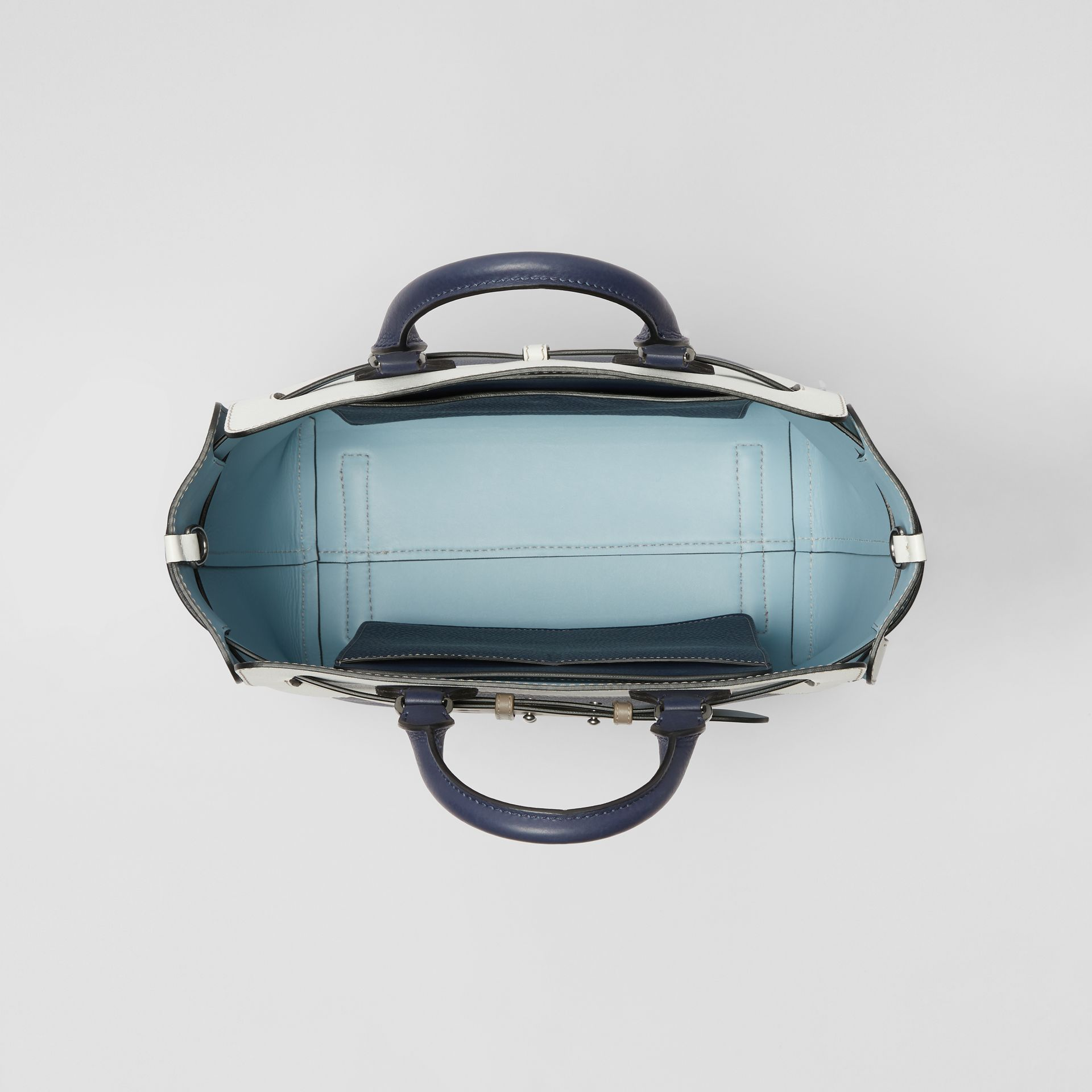 The Medium Tri-tone Leather Belt Bag in Regency Blue - Women | Burberry - gallery image 4