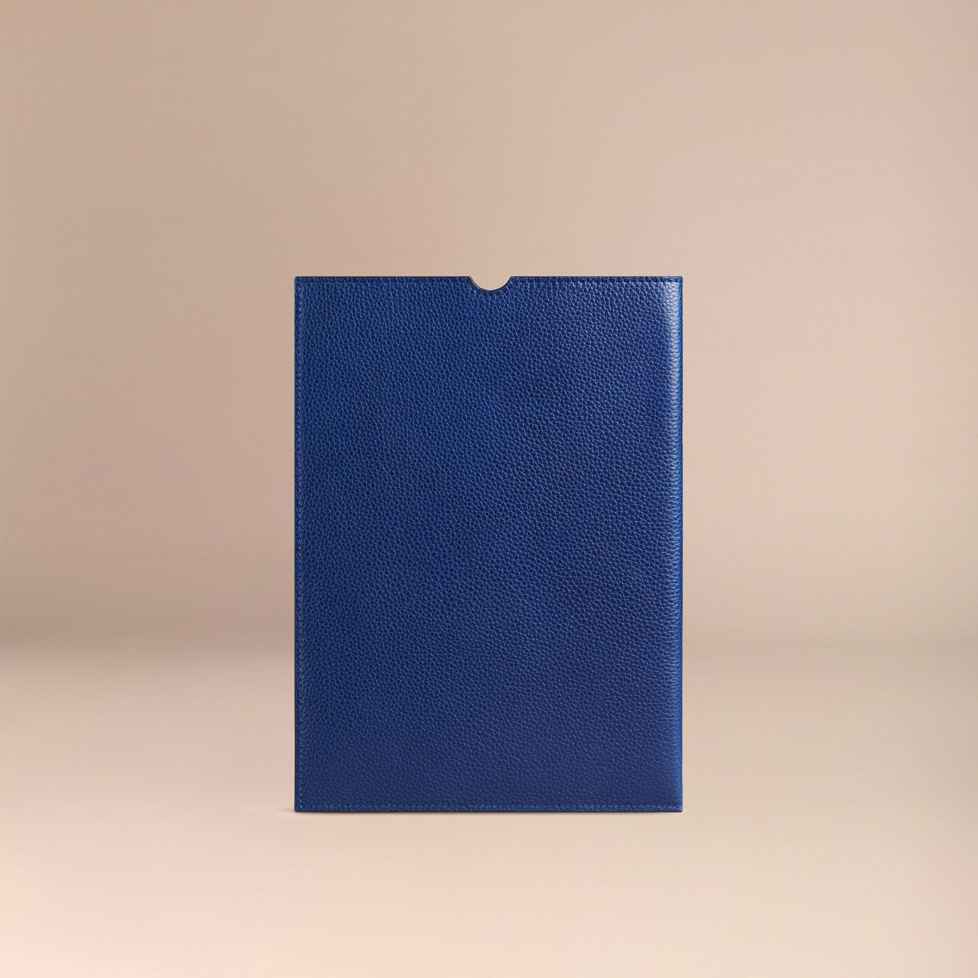 Bright navy Grainy Leather iPad Case Bright Navy - gallery image 2