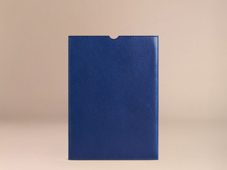 Bright navy Grainy Leather iPad Case Bright Navy - cell image 1