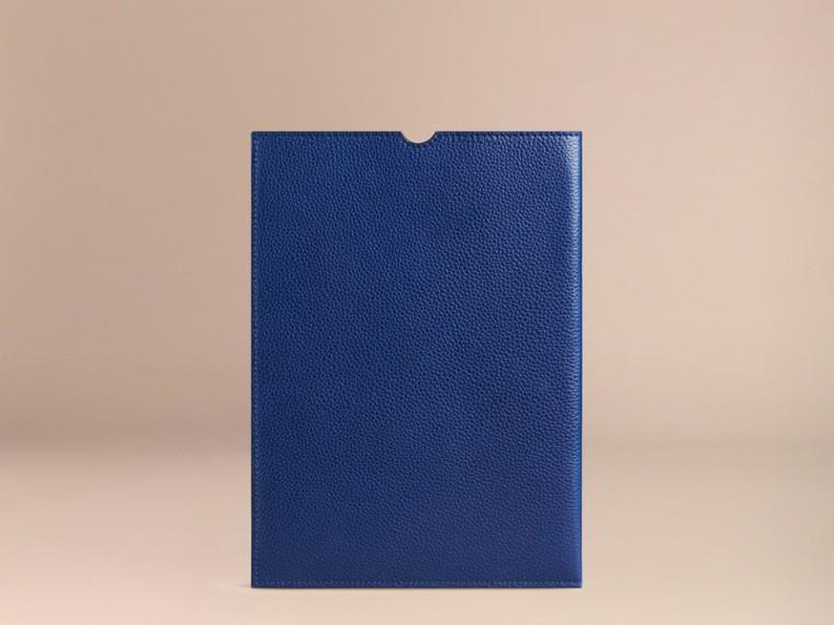 Marine vif Étui pour iPad en cuir grainé Marine Vif - cell image 1