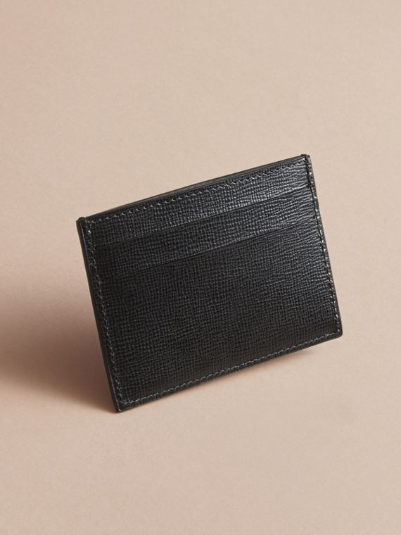Pallas Heads Print Leather Card Case - cell image 2