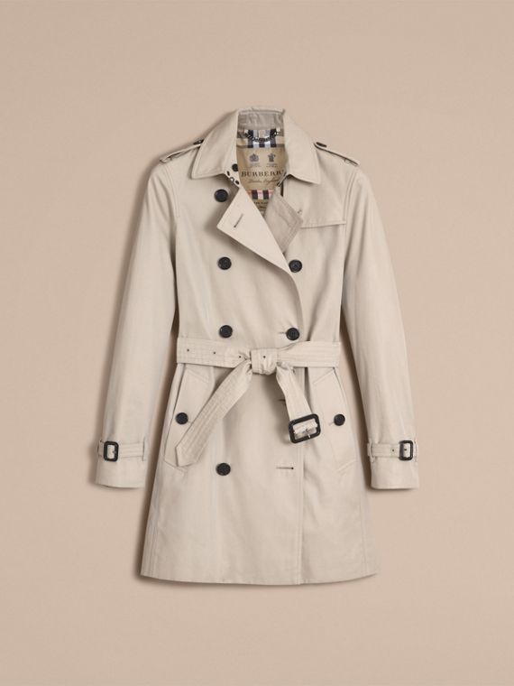 Trench coat Kensington - Trench coat Heritage de longitud media (Piedra) - cell image 3