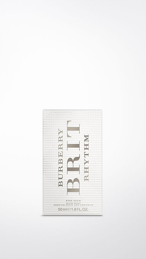 Clear Burberry Brit Rhythm Hair Mist 50ml - Image 2