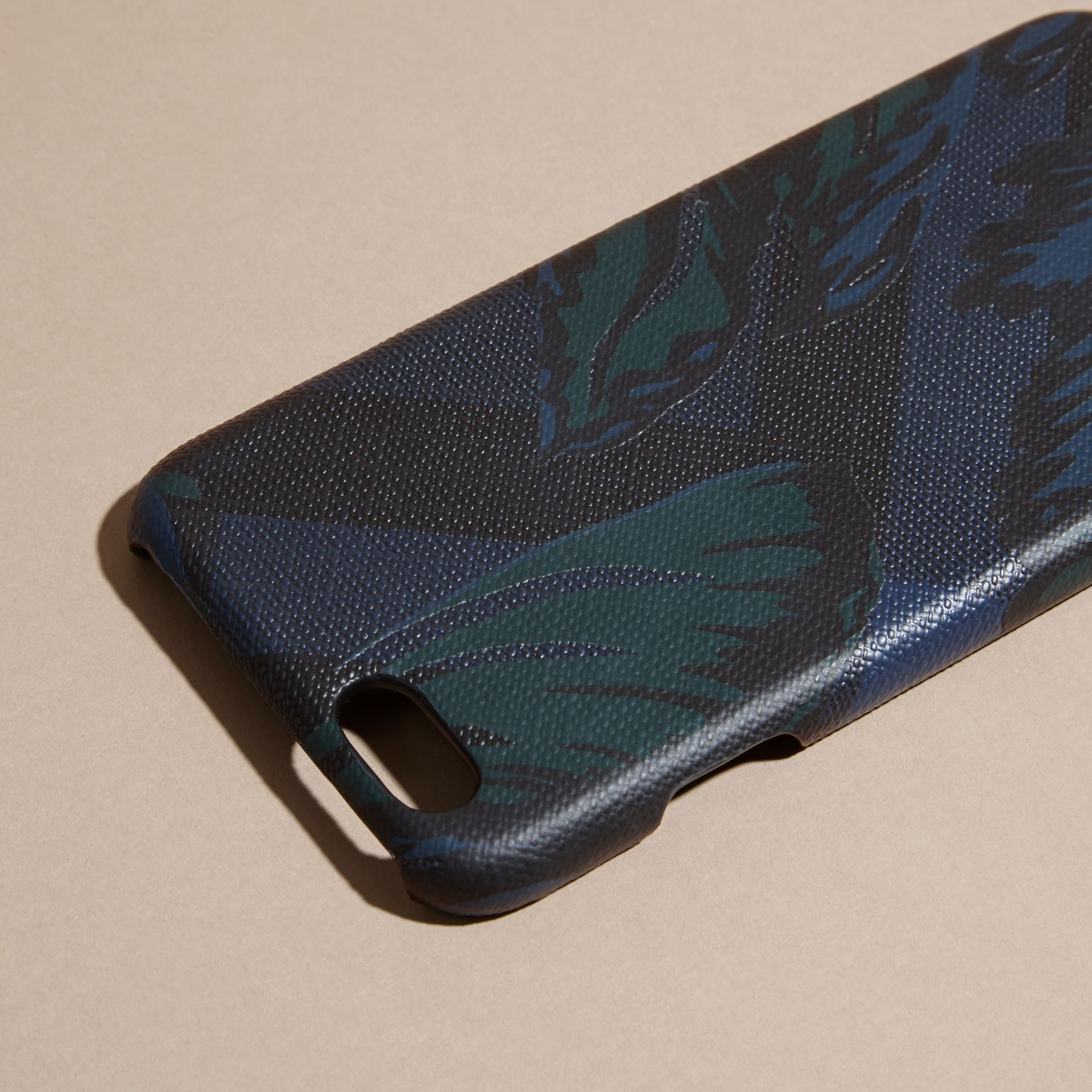 Floral Print London Check iPhone 6 Case - gallery image 2