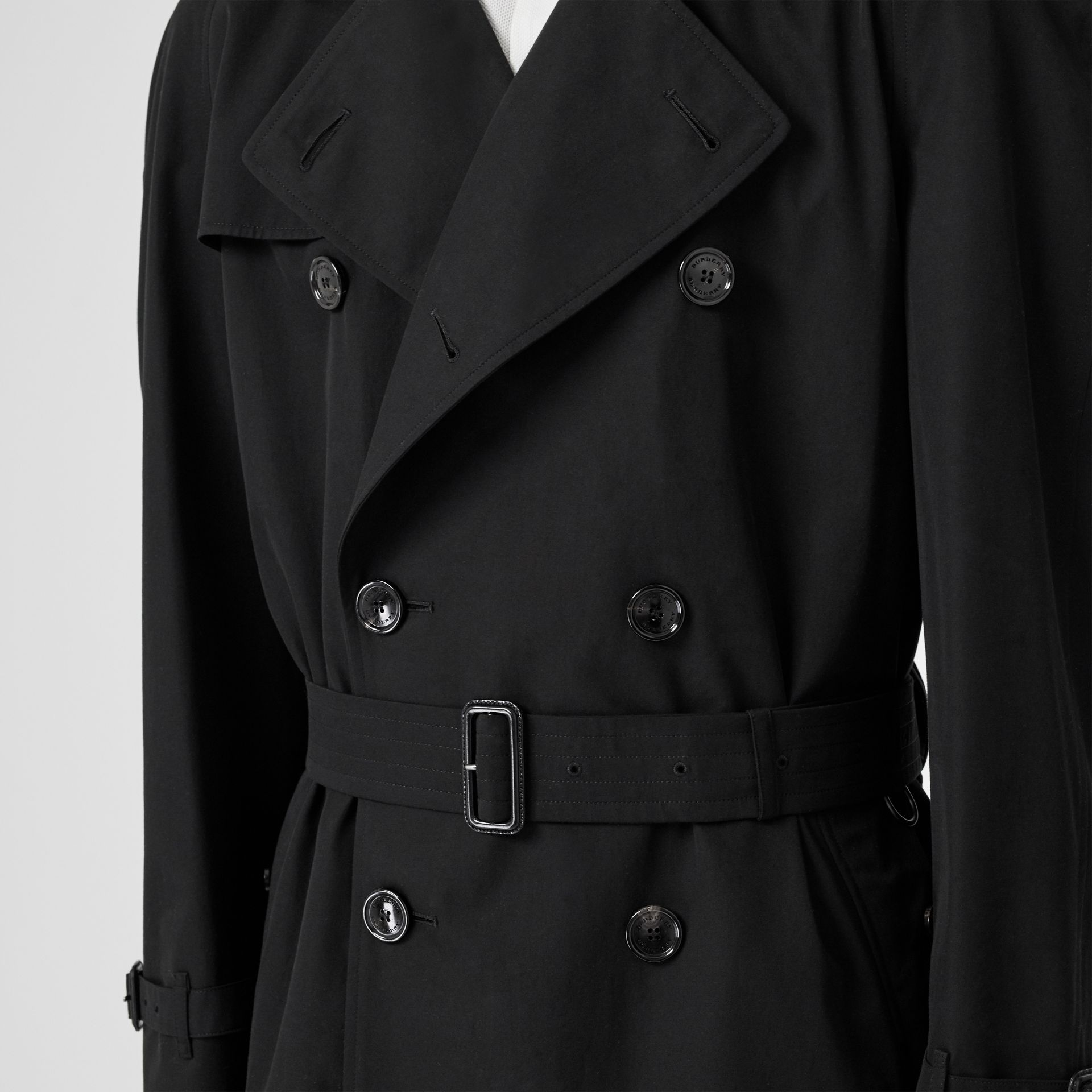 The Westminster Heritage Trench Coat in Black - Men | Burberry Hong Kong - gallery image 4