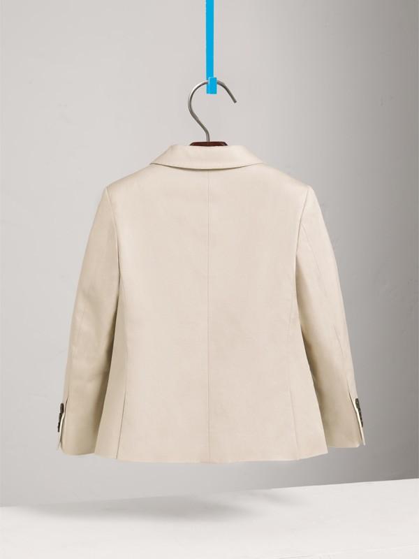 Americana de vestir en algodón elástico (Piedra) | Burberry - cell image 3