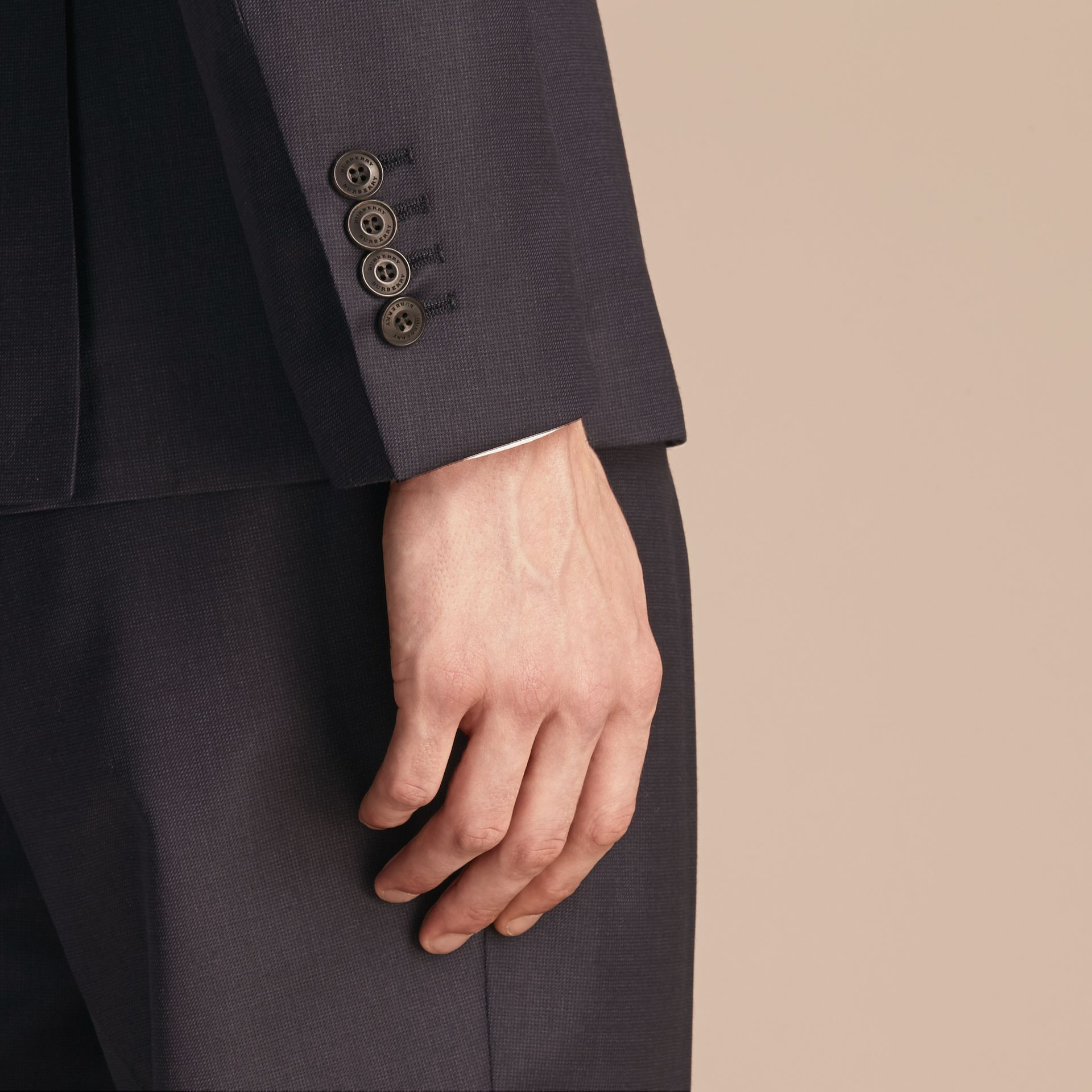 Slim Fit Travel Tailoring Wool Suit - gallery image 6
