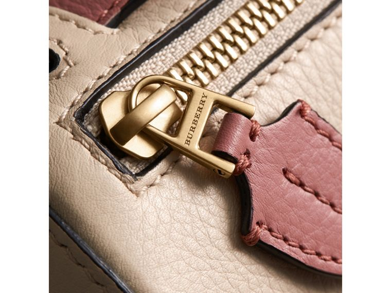 The Barrel Bag aus Leder (Kalksteinfarben/altrosenfarben) - Damen | Burberry - cell image 1