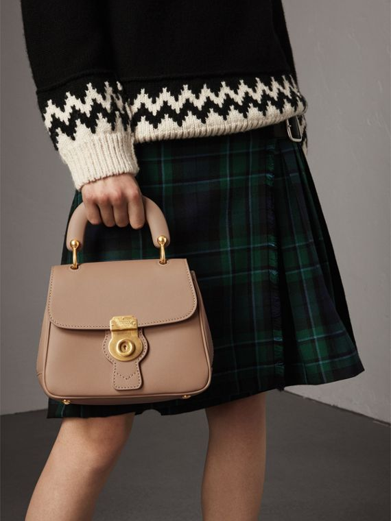 The Small DK88 Top Handle Bag in Honey - Women | Burberry Australia - cell image 3