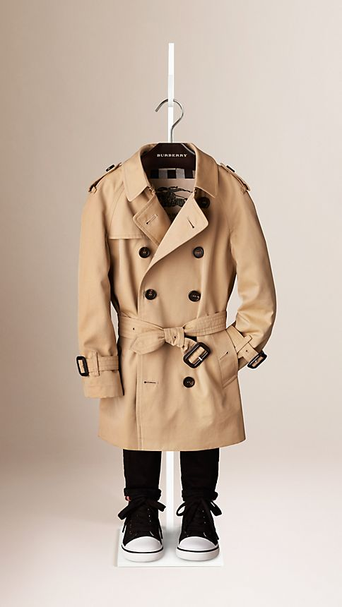 Honey The Wiltshire - Heritage Trench Coat - Image 1