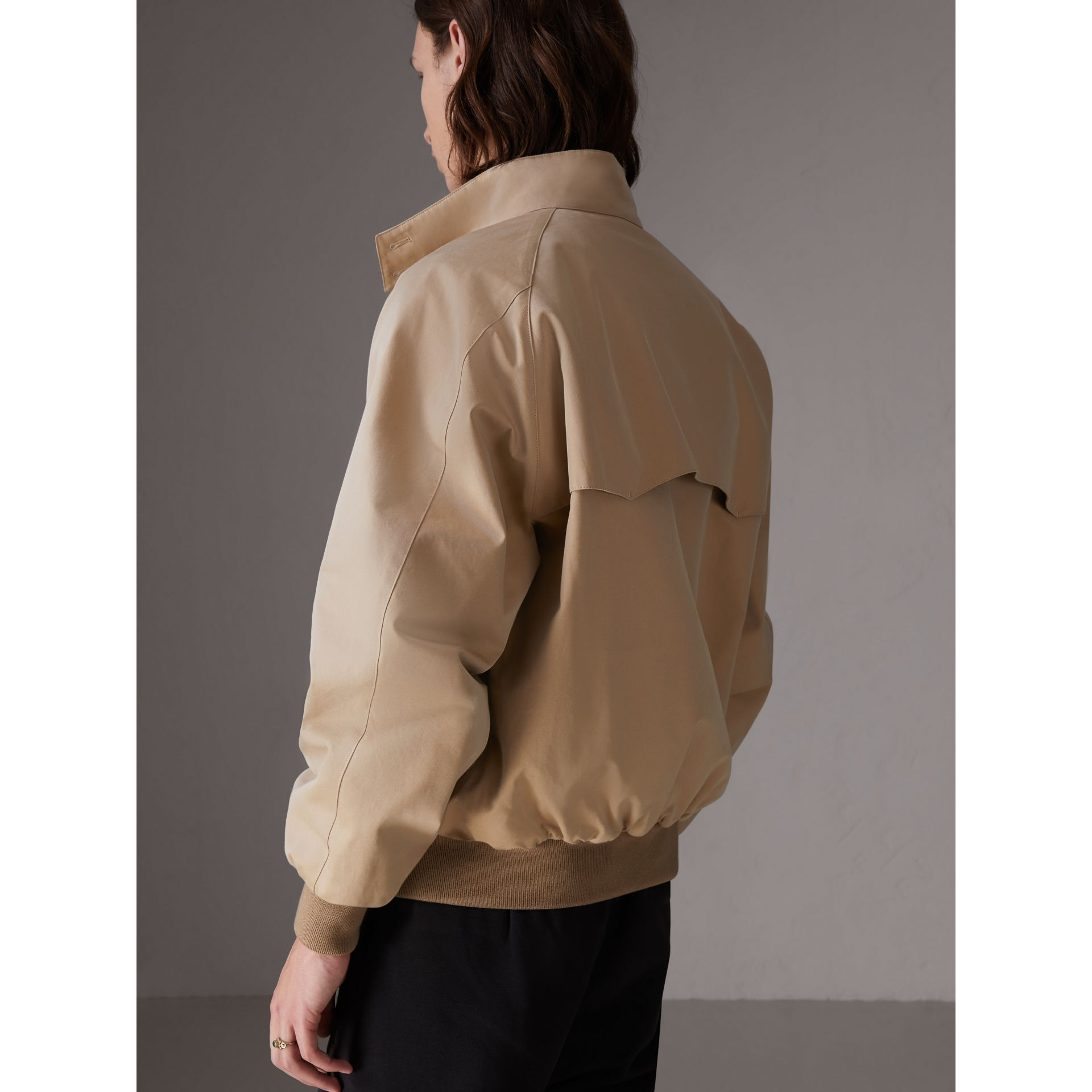 Gosha x Burberry Reversible Harrington Jacket in Honey | Burberry Singapore - gallery image 7